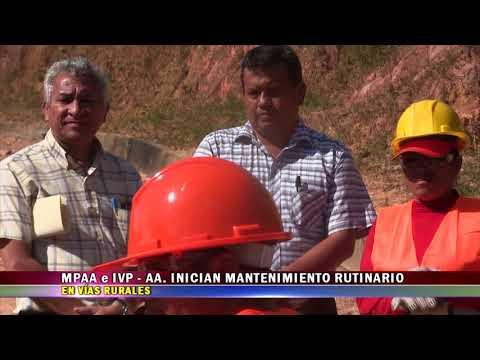 MPAA E IVP AA.  INICIAN MANTENIMIENTO RUTINARIO DE VÍAS RURALES