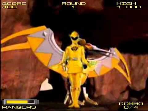 Play Power Rangers Dino Thunder Game Free Online at