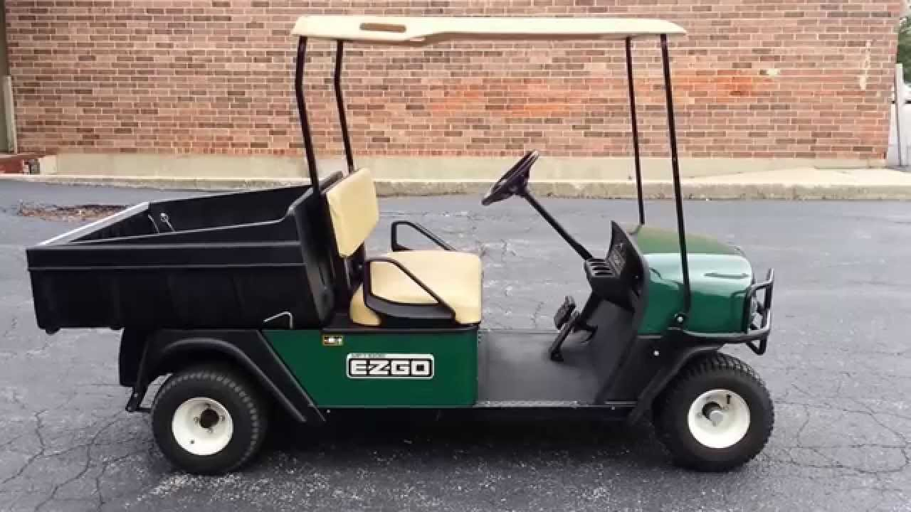 super clean 2010 ezgo mpt 1000 e, golf cart / utility vehicle, 48 volt,  dump box, 1000# payload! - youtube