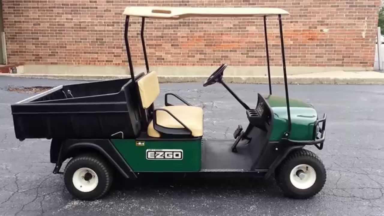 super clean 2010 ezgo mpt 1000 e golf cart utility vehicle 48 volt dump box 1000 payload youtube [ 1280 x 720 Pixel ]