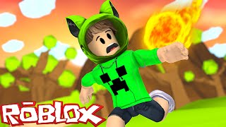 ROBLOX: A METEOR FELL ON MY HEAD
