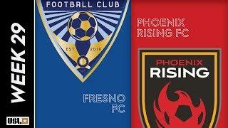 Fresno FC vs. Phoenix Rising FC: September 21, 2019