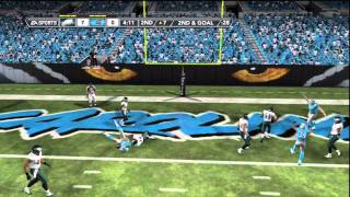 Madden NFL 12 Eagles vs Panthers