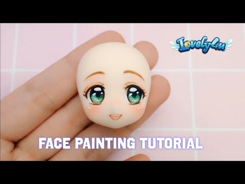 How to paint figure s face | Version3  | DIY| Clay Tutorial