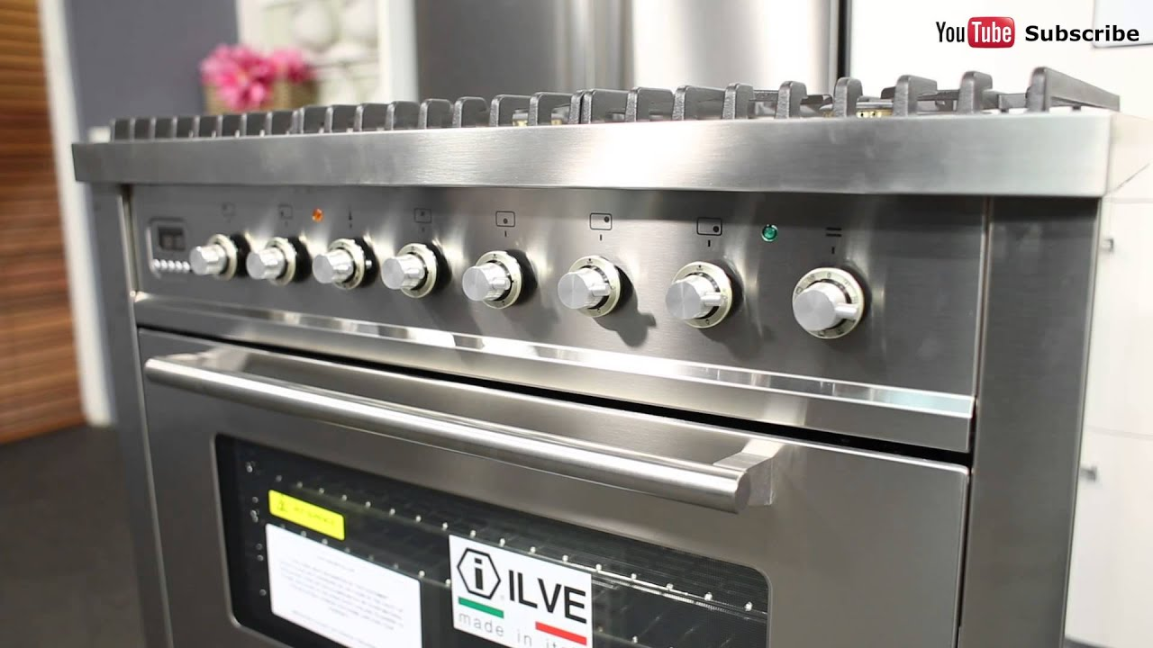Freestanding Ilve Dual Fuel Oven Stove Nt906wmpss Reviewed By