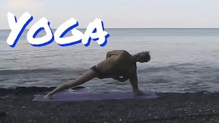 гибкость без травм за 10 мин в день, йога на море, потягушки на пляже, моя йога синерджи(йога на берегу Черного моря, потягушки на пляже, моя йога синерджи, Yoga Synergy, йога на пляже, утренняя йога,..., 2015-11-17T11:56:04.000Z)