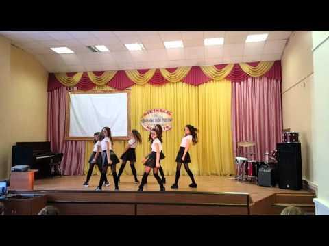 Видео: Современный танец в школе январь 2016