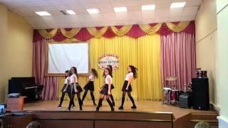 Современный танец в школе январь 2016