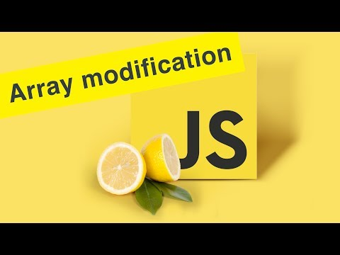 Javascript Tutorial | Array Modification | Ep17 thumbnail