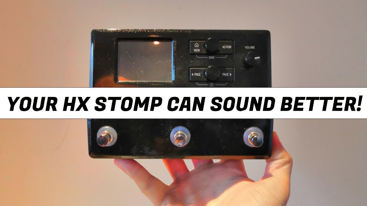 Make Your HX STOMP Sound Better With IRs (AND THESE ARE FREE!)