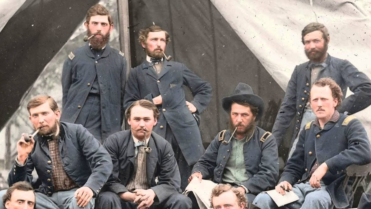 american civil war photos in color youtube