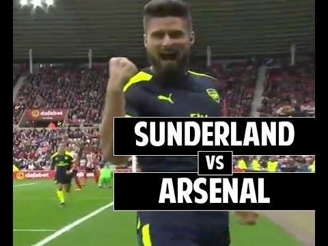 Sunderland vs Arsenal 1-4 All Goals and Highlights ● EPL 16/17 ● 29/10/2016