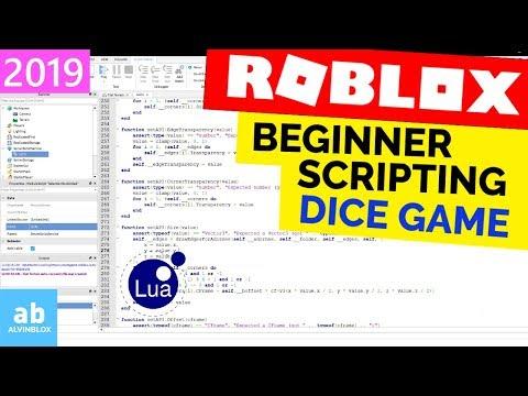 Beginner Roblox Scripting Tutorial 3 - Dice Game (Properties,Referencing Part 2] thumbnail