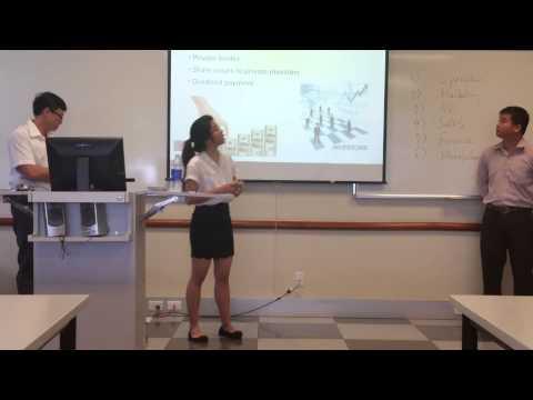 Department of Finance Presentation (BusComm Class)