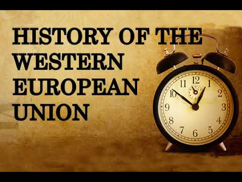 History of the Western European Union