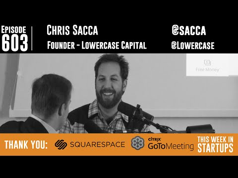 Chris Sacca is back! Legendary investor hears pitches & talks Shark Tank, Twitter, politics, more