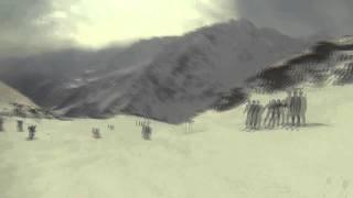 Копия видео спуск со станции  Мира до поляны Азау(, 2015-03-14T16:19:08.000Z)