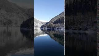 Абхазия озеро Рица январь 2020