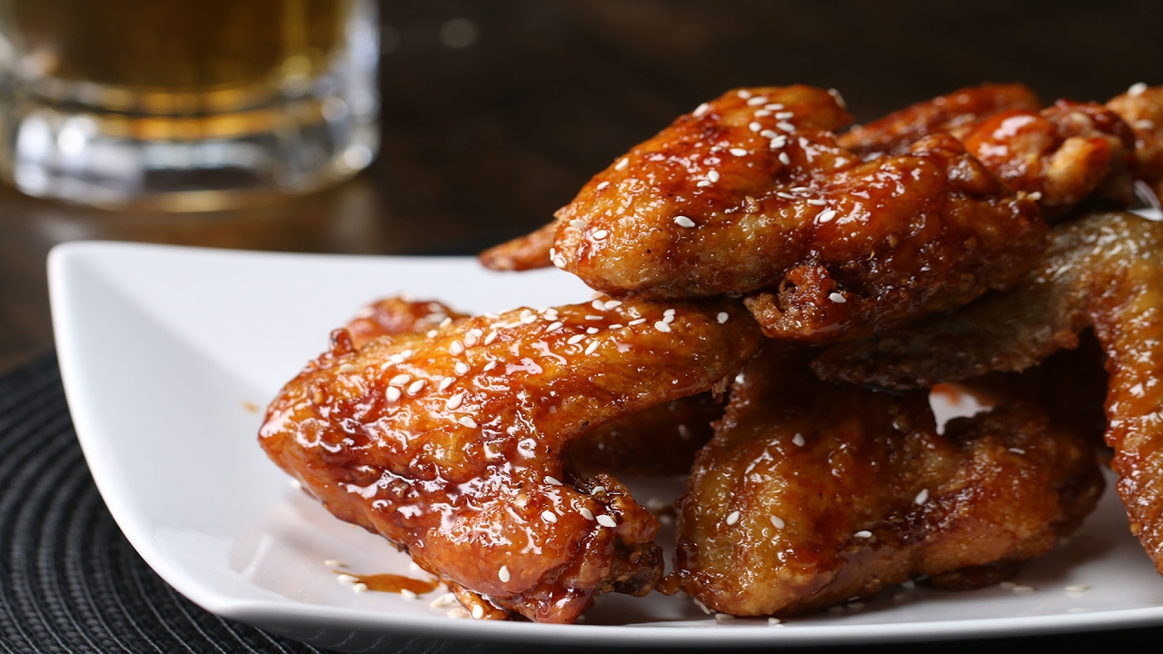 Sweet Soy Chicken Wings - YouTube