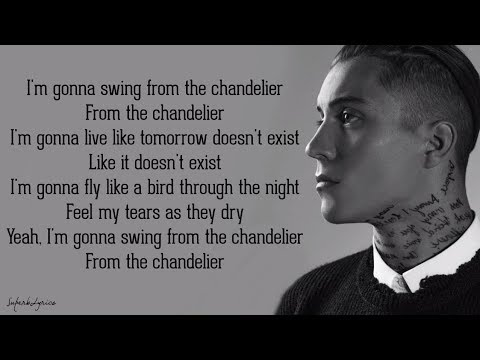 Loic Nottet - Chandelier (Lyrics)