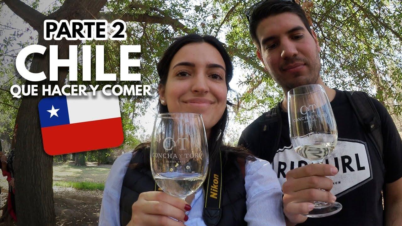 QUÉ HACER EN CHILE 🇨🇱 - CONCHA Y TORO - SKY COSTANERA   FoodTour