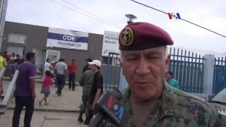 Futuro incierto para damnificados de terremoto en Ecuador