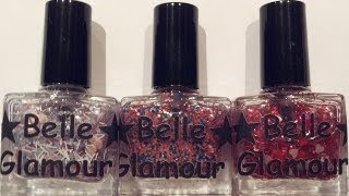 The Valentines Collection By Belle Glamour Polish - Fab UK Indie Brand