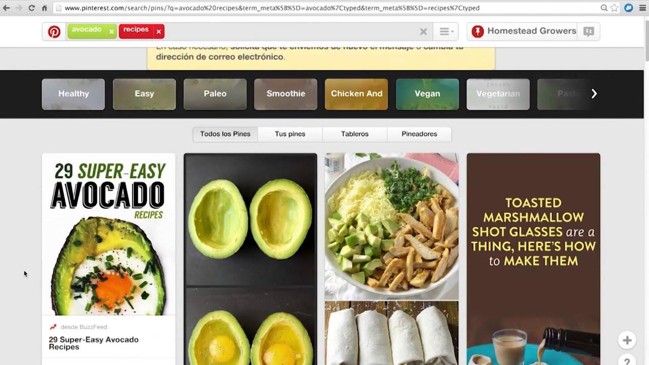 Tutorial de pinterest en espa ol uf ifas youtube for Pinterest en espanol