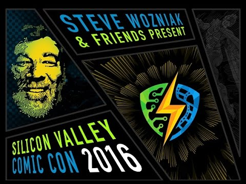 Silicon Valley Comic Con - Oculus- Woz -Fireside Chat- Bay Area Backstage