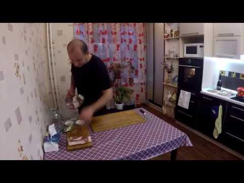 ВКУСНОЕ САЛО в РАССОЛЕ (самый вкусный и простой рецепт засолки сала, подчерёвок)