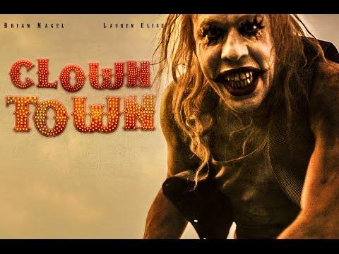 CLOWNTOWN Official Trailer #2 Starring Lauren Compton (Horror Movie)