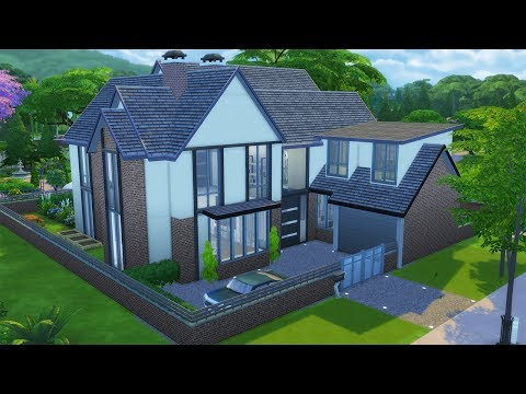 1 Oakfield Avenue   Speed Build   The Sims 4 CC
