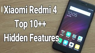 Xiaomi Redmi 4 Top 10 Hidden Features TipsTricks HINDI