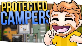 Preparing for PROTECTED CAMPERS in PRISON ARCHITECT! (Part 12)