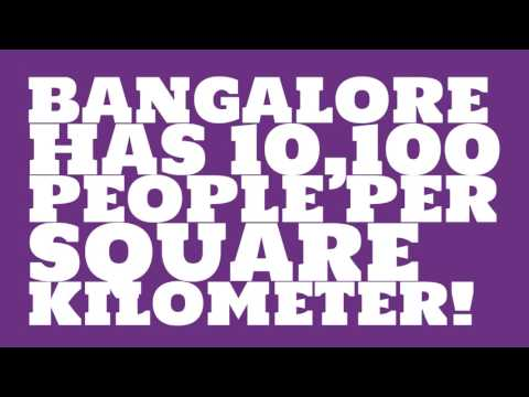How does the population of Bangalore rank?