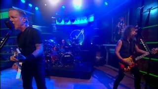 Metallica - Master Of Puppets - The Colbert Report, 2013