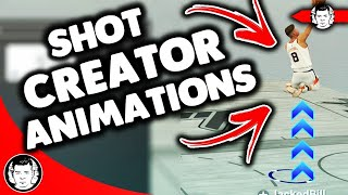NBA 2K19 BEST SHOT CREATOR ANIMATIONS - DRIBBLE GOD , FLASHY DUNKS , JUMPSHOT