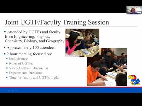 TRESTLE Brown Bag Session: Undergraduate Teaching Fellow Tra