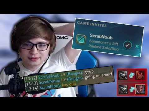 Sneaky Receives the ScrubNoob Treatment (ft. Unbelievable Backdoor Play)
