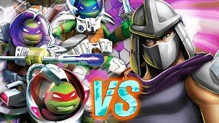 SPACE NINJA TURTLES VS CLASSIC. Teenage Mutant Ninja Turtles Legends [TMNT LEGENDS UPDATE X]