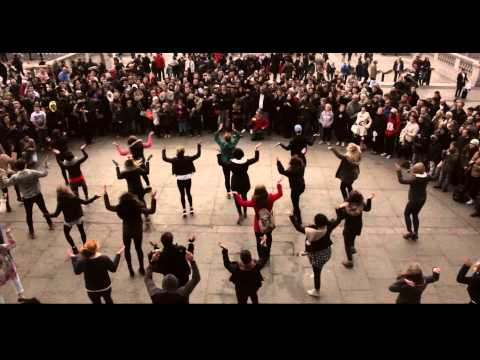 Trafalgar Square Flashmob Proposal Alper & Izlem (Amazing Proposal Ever)