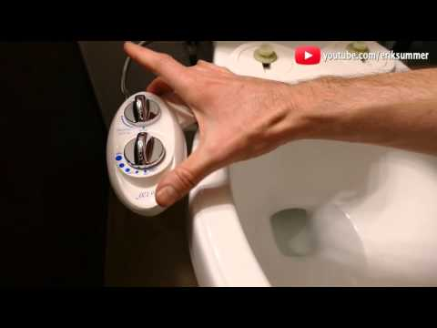 Use a Bidet for a cleaner BUTT! Work on ANY Toilet! Benefits, installation, and review!