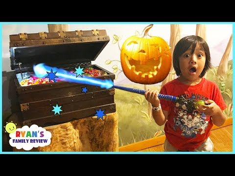 Thumbnail: Great Wolf Lodge Indoor MagiQuest Family Fun Kid Activities for Children Halloween