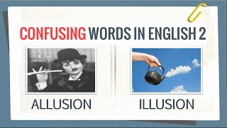 The Most Confusing Words in English 2