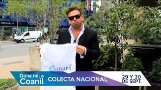 Invitación a colaborar Ignacio Gutiérrez- Colecta Coanil 2017