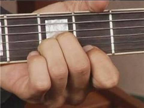 Play Bb Aug Chord on the Top Guitar Strings: Root Position : Guitar ...