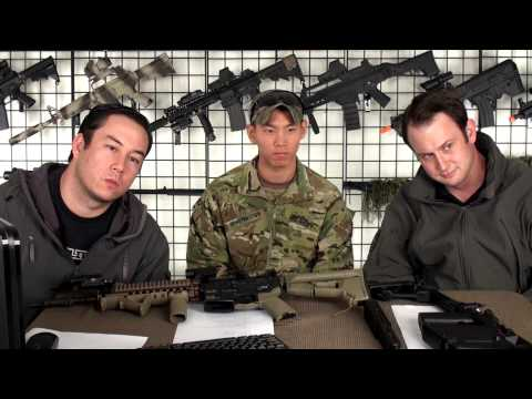 Airsoft GI - Army Sergeant Greg Wong and KWA KRISS VECTOR - Live BlogTV.com Broadcast 12/18/2012