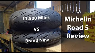 Michelin Road 5 | 11,500 Mile Review | Wear Comparison | Just One Issue