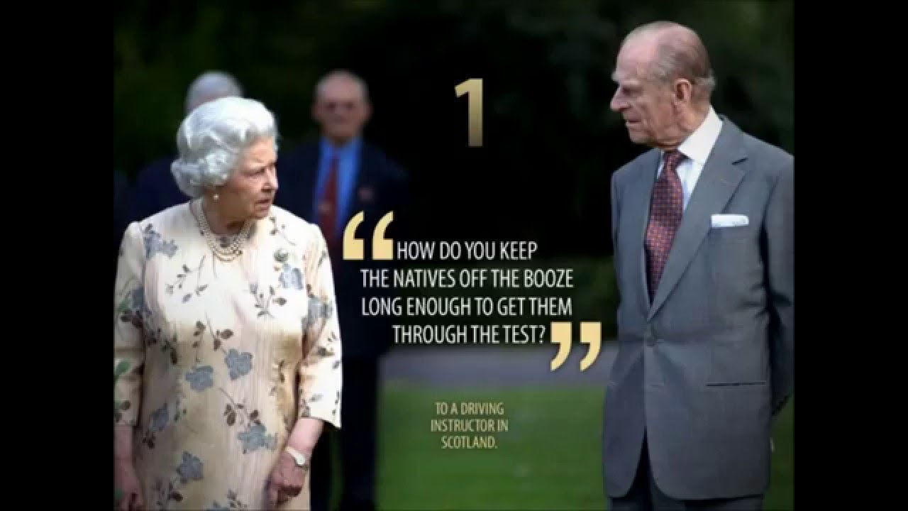 Prince Philip Quotes Magnificent Prince Phillip Top 10 Quotes  Youtube