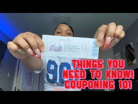 If Your Trying To Coupon You NEED TO KNOW These Things! Couponing 101! Coupon Lingo, Rules & MORE!